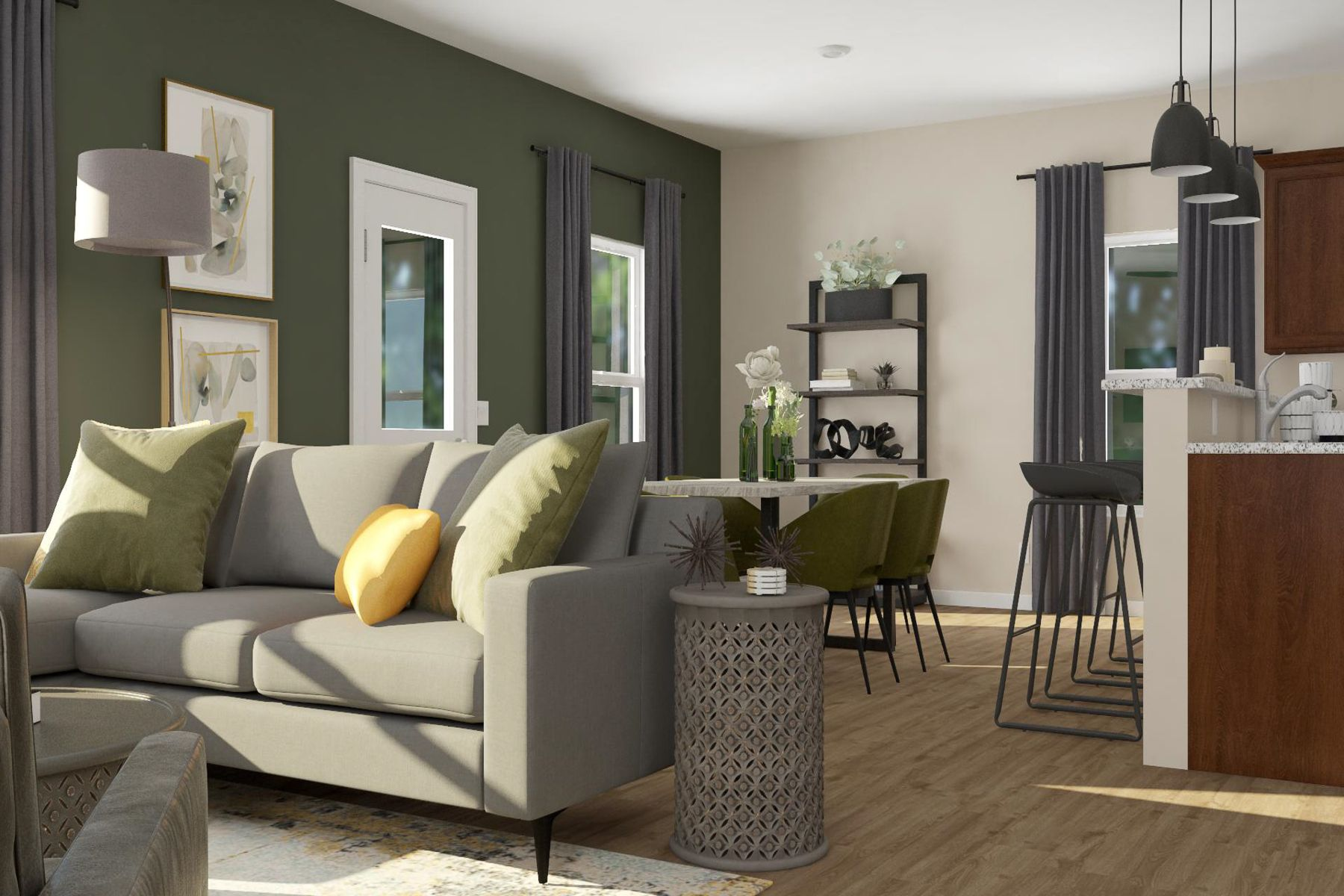 The Camden by LGI Homes:Open-concept layout - perfect for entertaining!