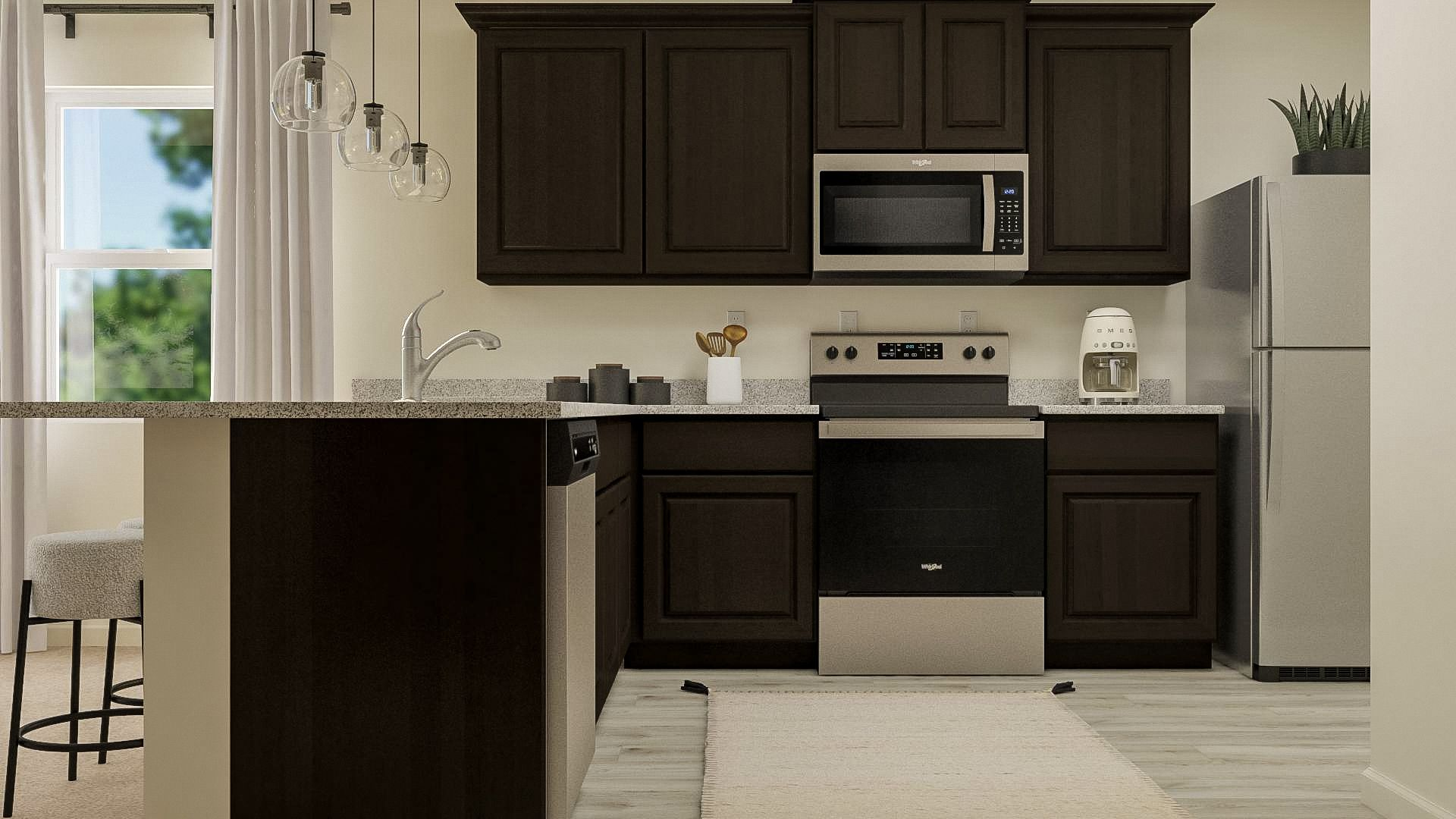 Kitchen - *These images may be representative and include after market items.:LGI Homes at Hidden Valley Farm