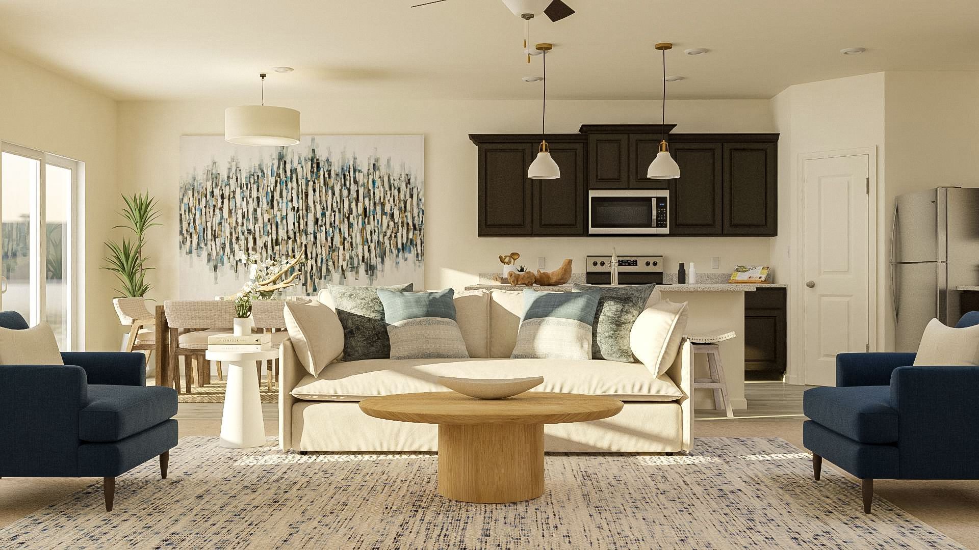 Family room - *These images may be representative and include after market items.:LGI Homes at Hidden Valley Farm