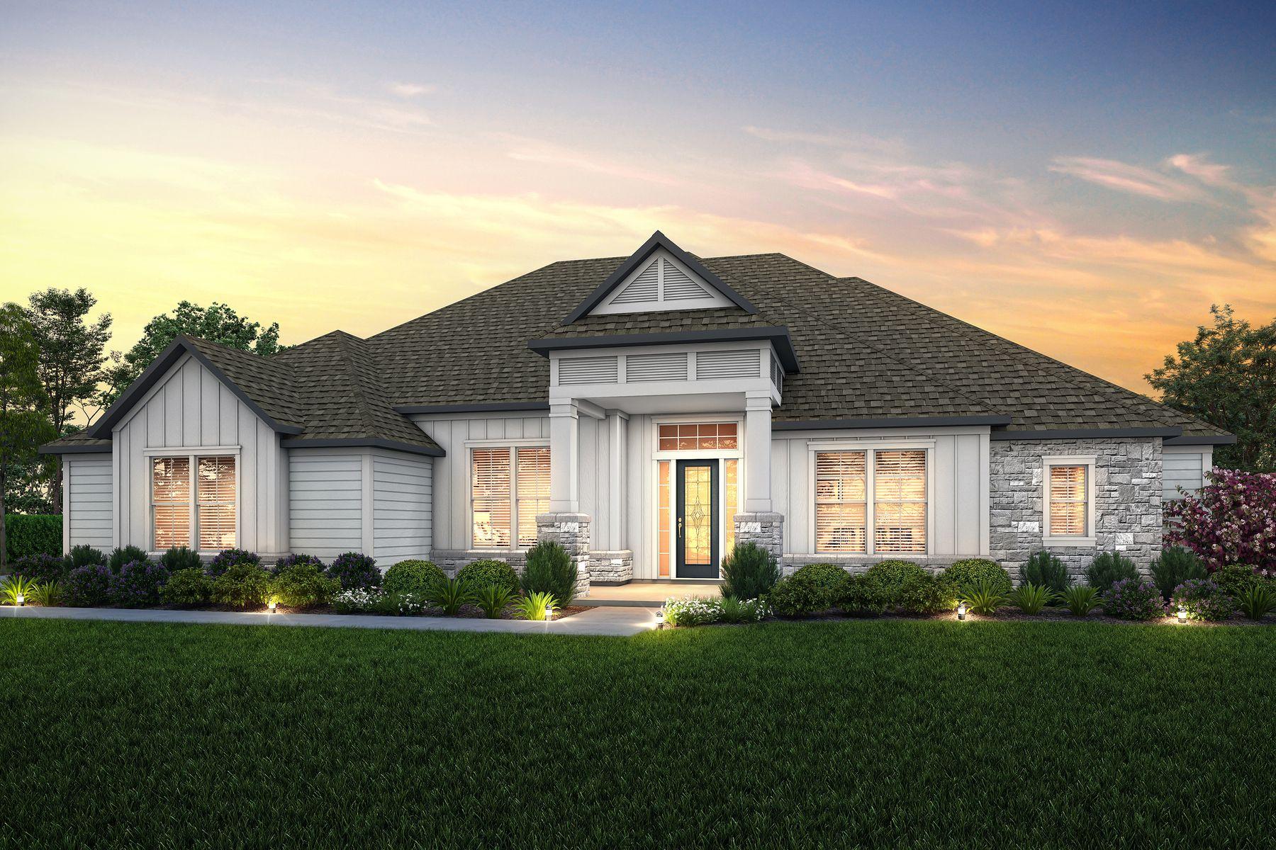 Southern Pines by Terrata Homes:Schedule your tour of the spacious Timberland plan in the Craftsman Collection by Terrata Homes.