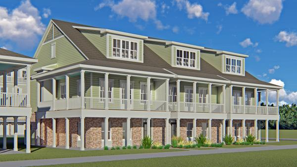 Front Elevation Rendering