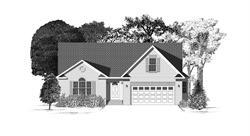 Brick Front Elevation-Callaway-Built On Your Land