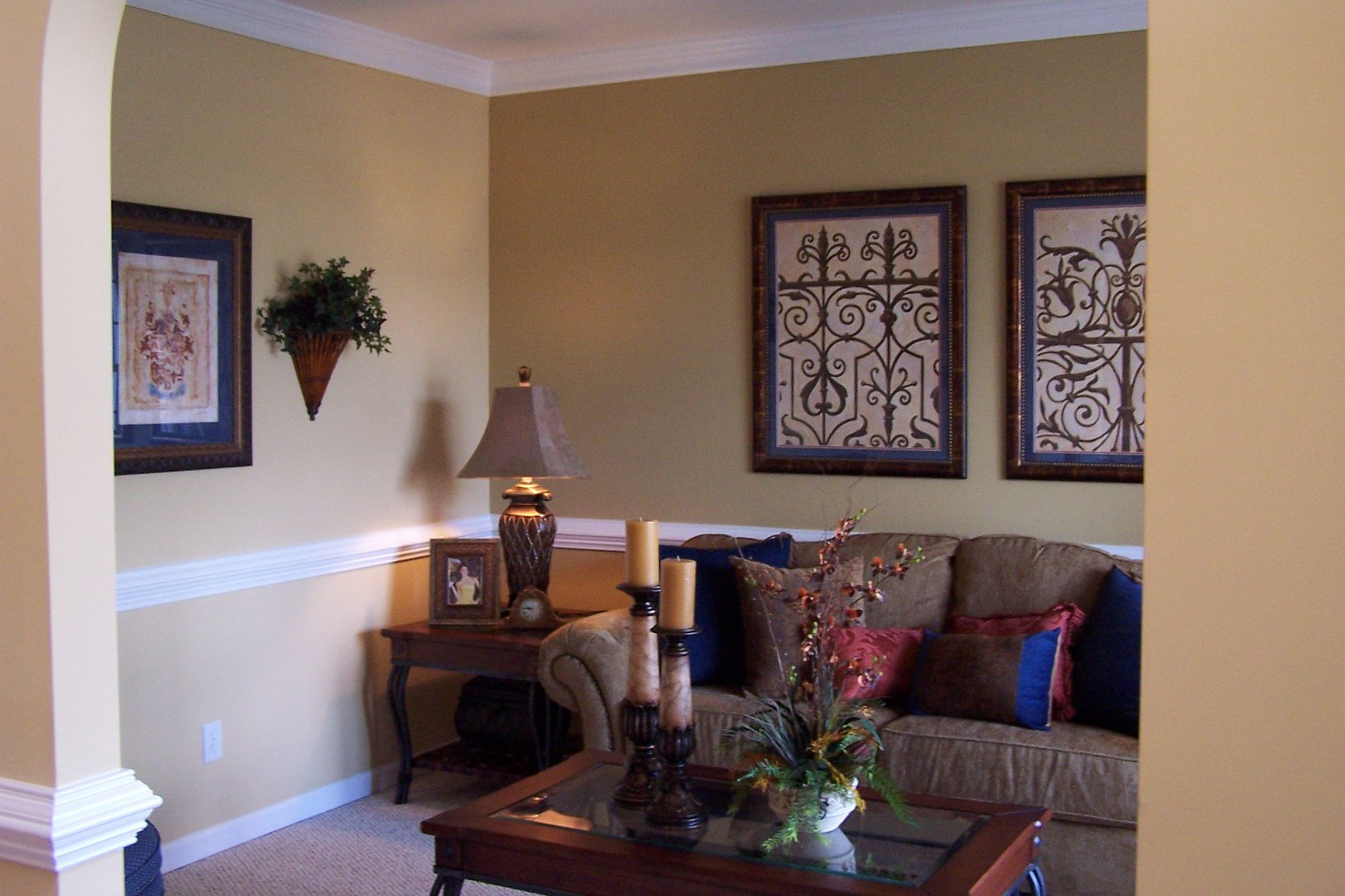Living Room-Lockwood-Built On Your Land