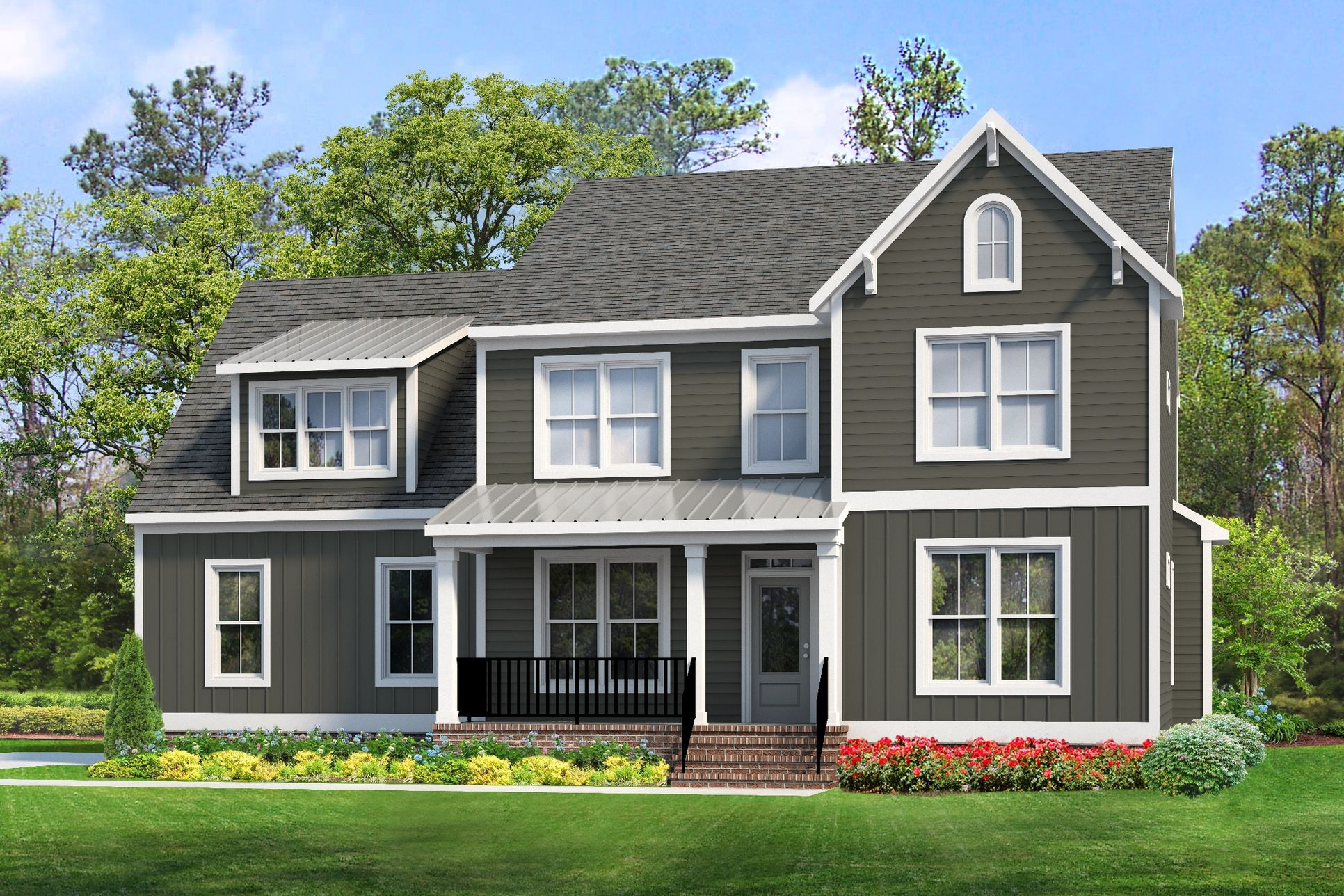 Jefferson Model Home - Coming This Summer on Homesite 22