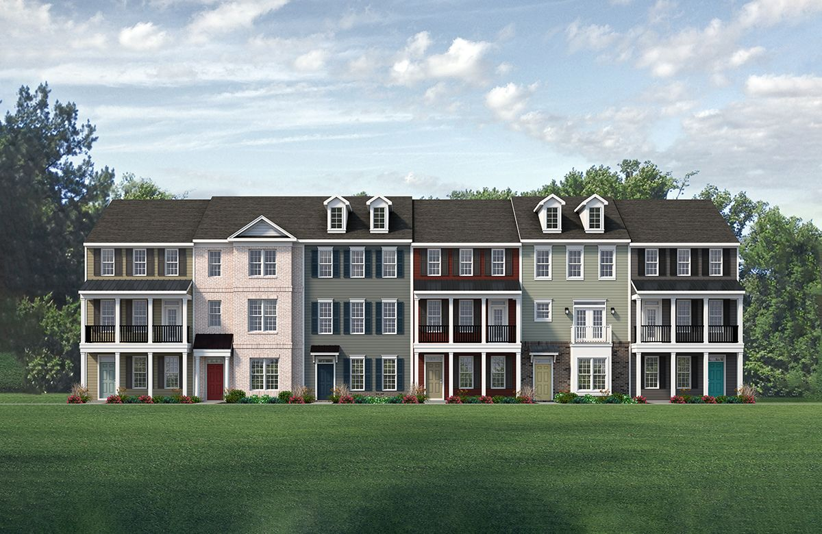 3-Story Townhomes