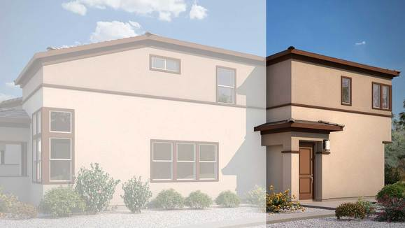 Exterior:Rendering | Building 4 - Desert Prairie Elevation