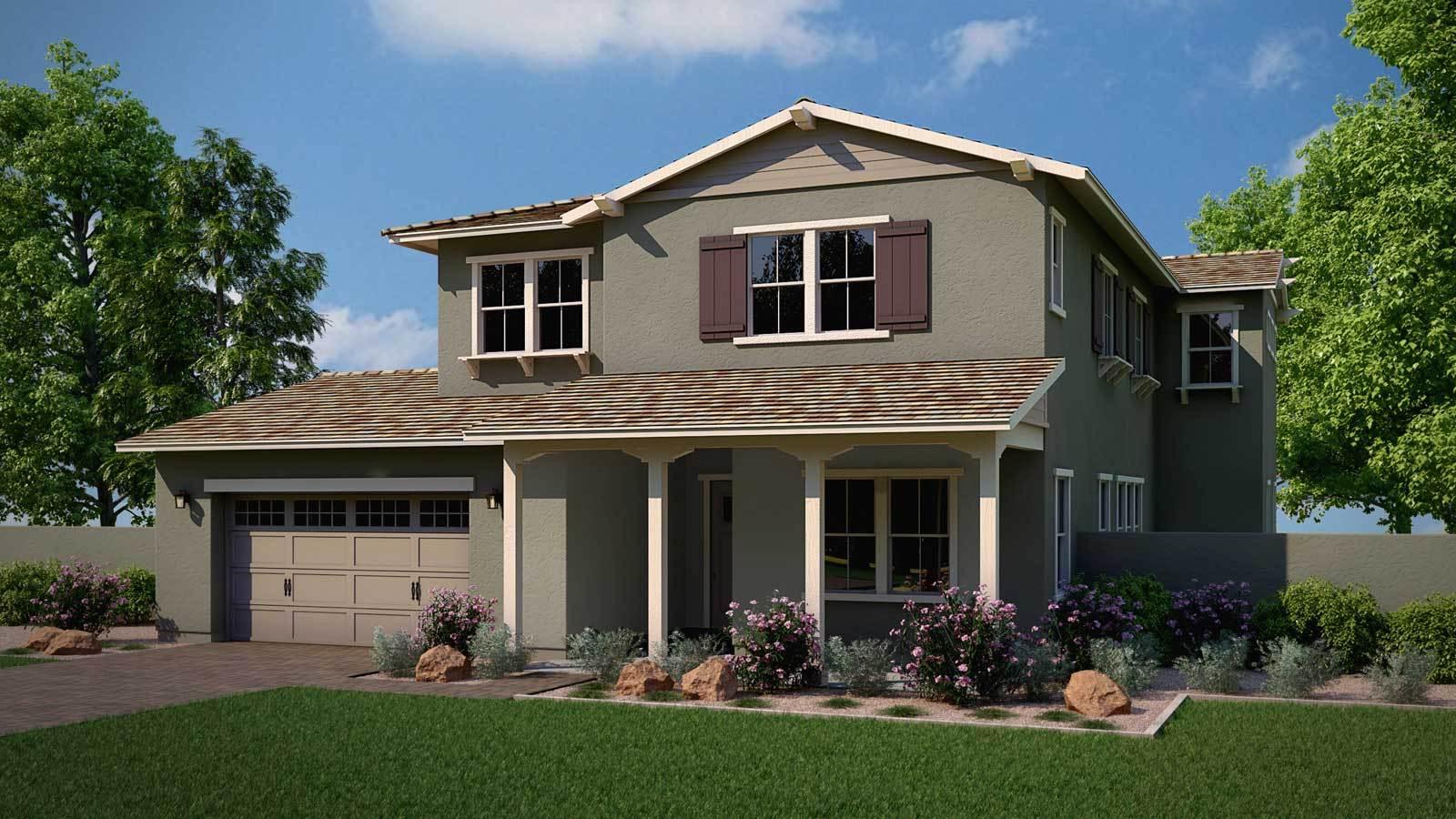 Exterior:Rancher Floor Plan | Ranch Elevation