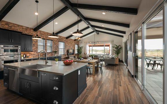Piedmont Plan 1 | Kitchen to Great Room