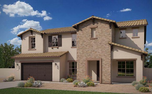 Exterior:Elevation B | Ranch Hacienda