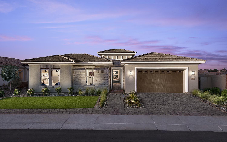 Exterior:Residence 2 Model