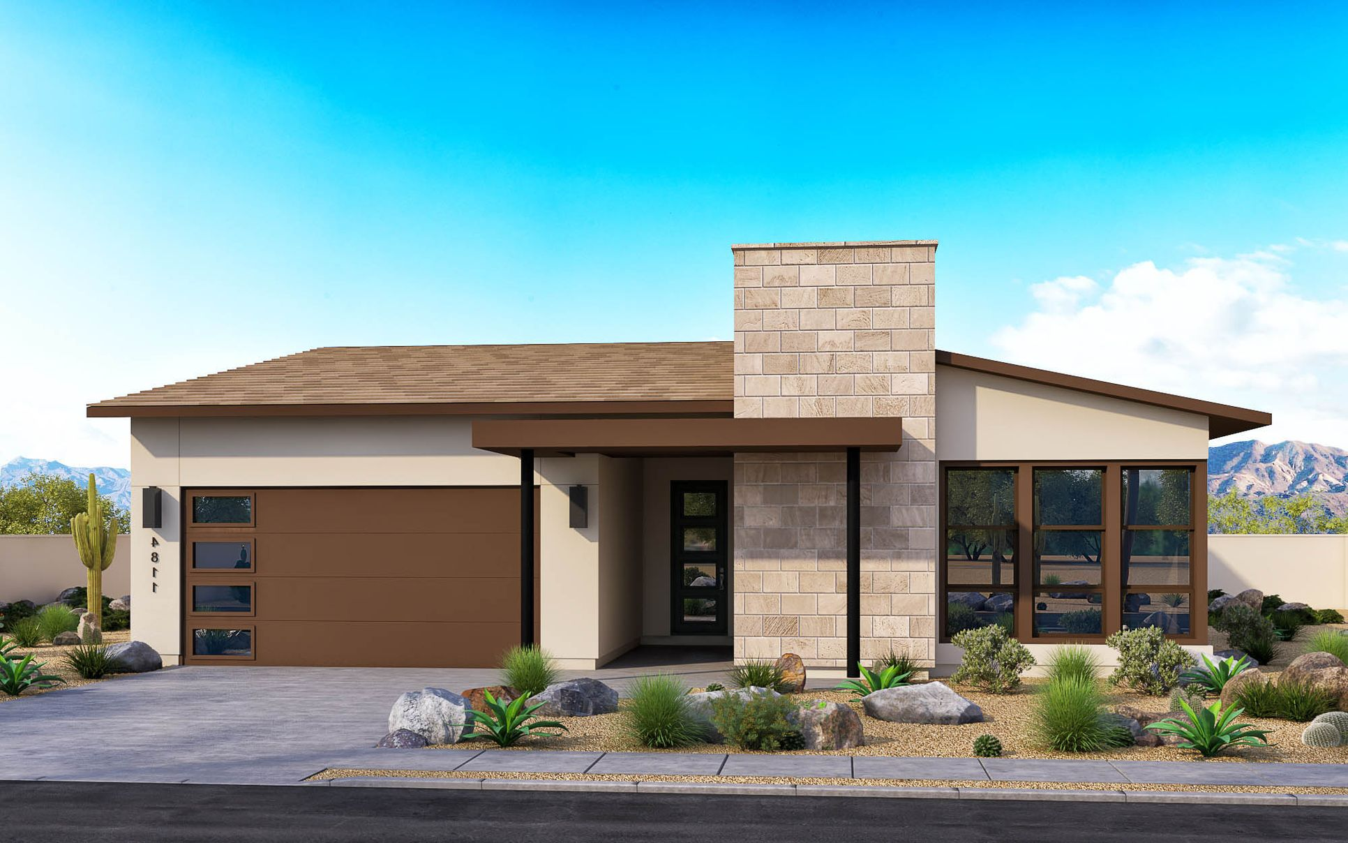 New Century Modern Elevation A