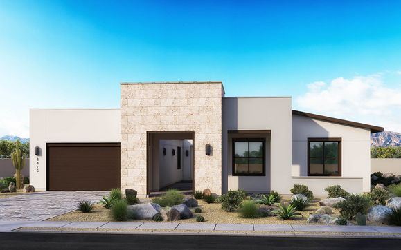 Desert Modern Elevation B