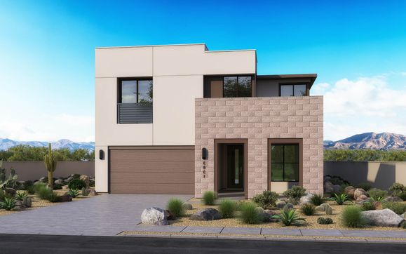 Exterior:Desert Modern Elevation B
