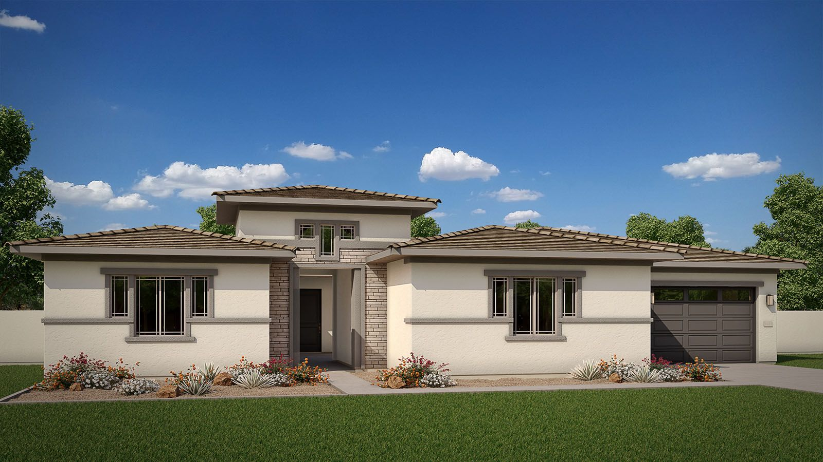 Exterior:Elevation C | Desert Prairie