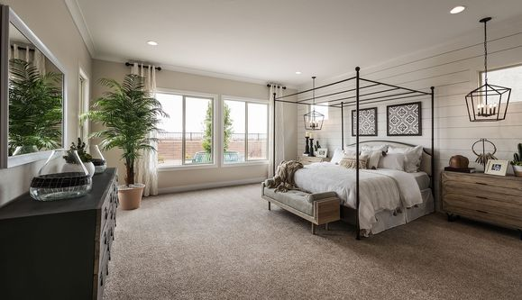 Discovery Plan 5581 Model | Master Bedroom