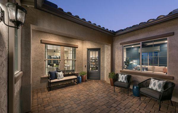Cholla Plan 5541 Model | Courtyard