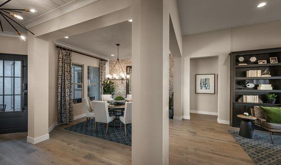Cholla Plan 5541 Model | Foyer