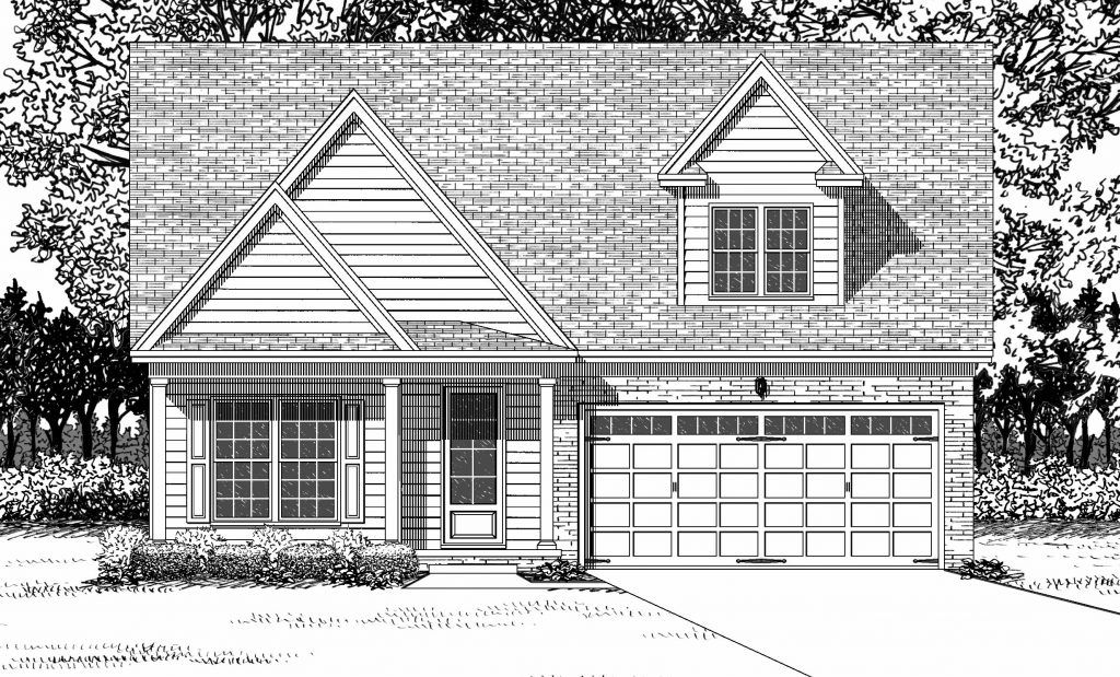 The Nash:Traditional Elevation