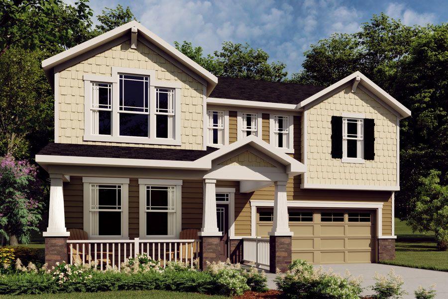 Exterior:Gaines - Craftsman