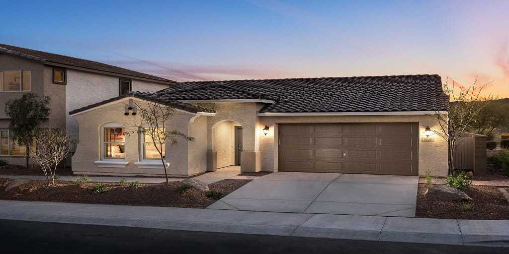 Solano at Sienna Hills:Mattamy Homes in Phoenix Solano at Sienna Hills Benson Floorplan Exterior Image