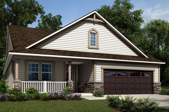 Exterior:Cole - French Country