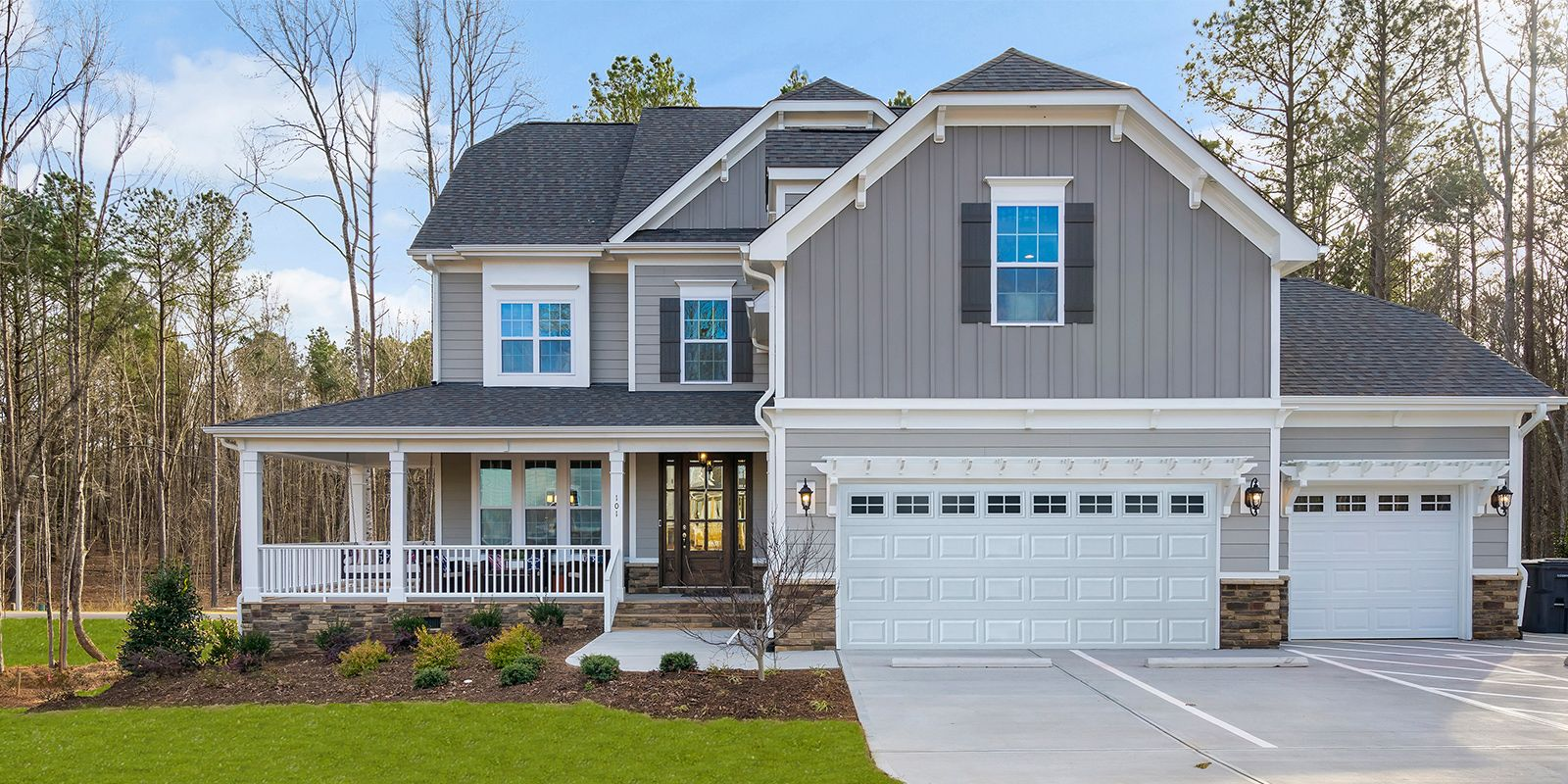 Holly Springs - Ballentine Place:Ballentine Place Edenton Model Home, Mattamy Homes