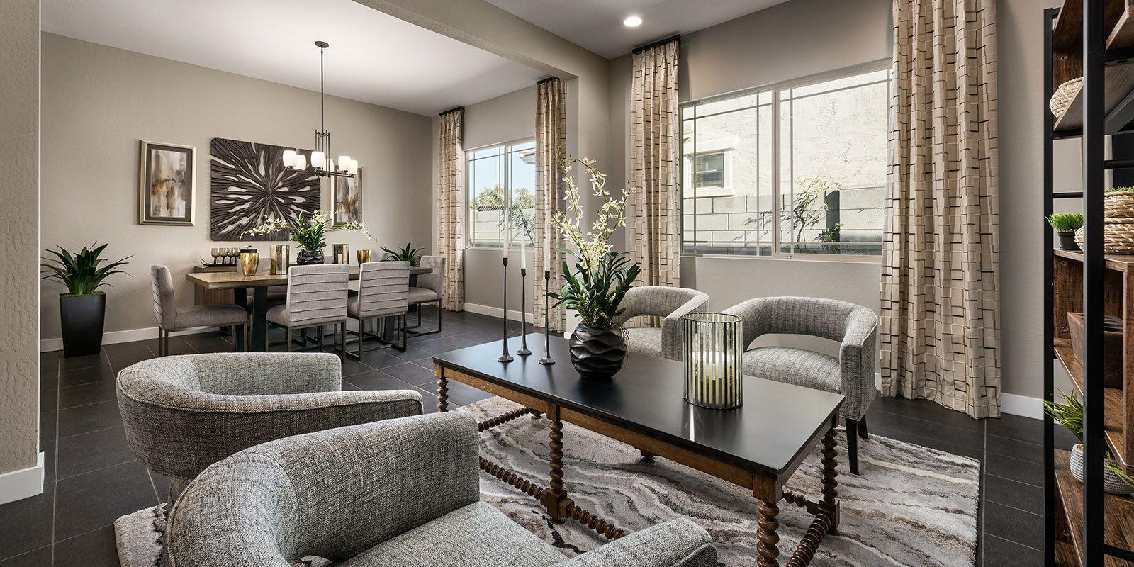 Phoenix - Vista Diamante:Vista Diamante at Camelback Ranch Hero Model Home Open Living Spaces