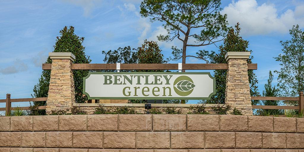 Deland - Bentley Green:Bentley Green by Mattamy Homes in Deland, FL: Entrance Sign