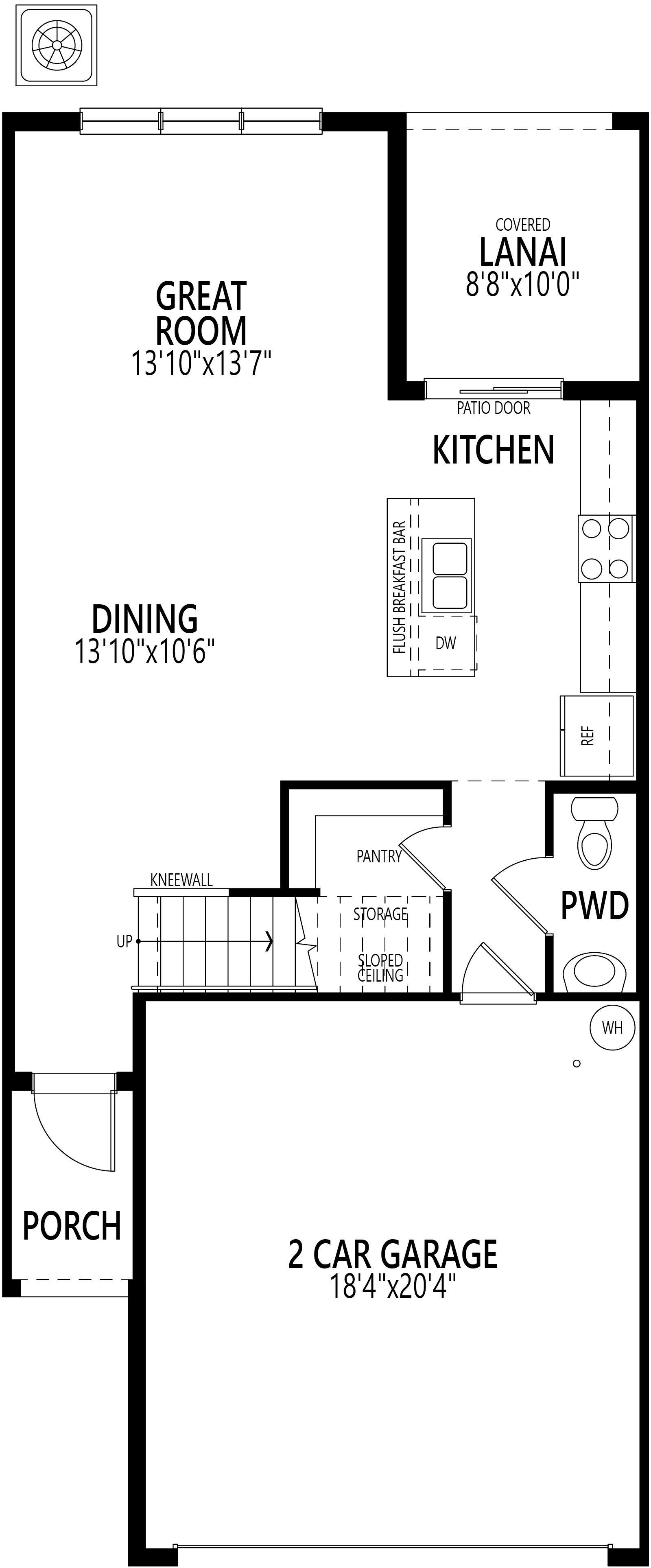 Ashton:Ground Floor Plan