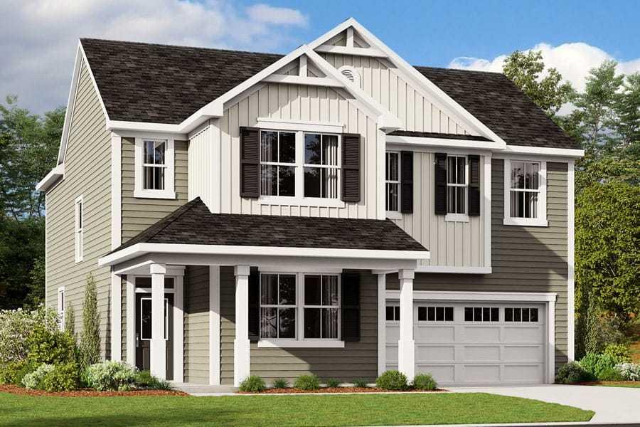 Exterior:Decker - Farmhouse