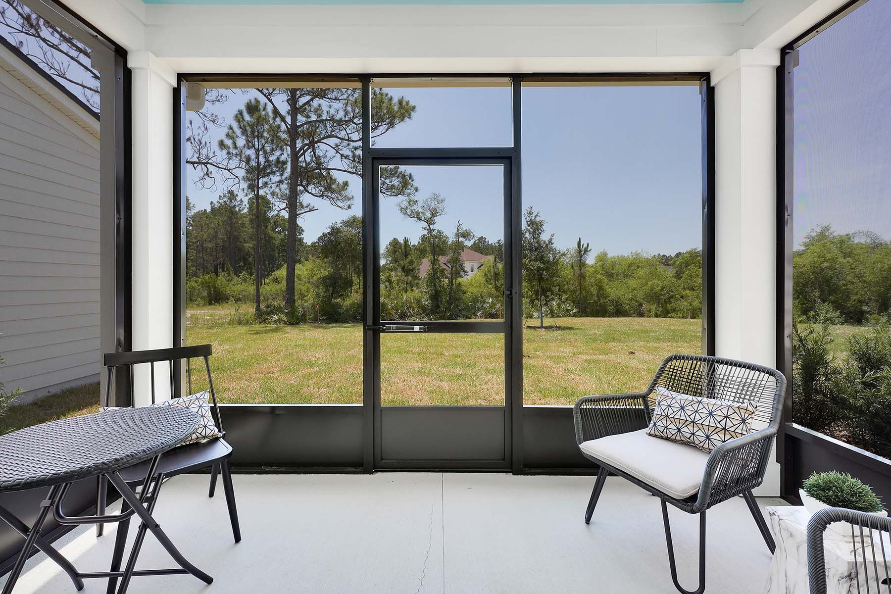 Exterior:Talise Model Covered Lanai