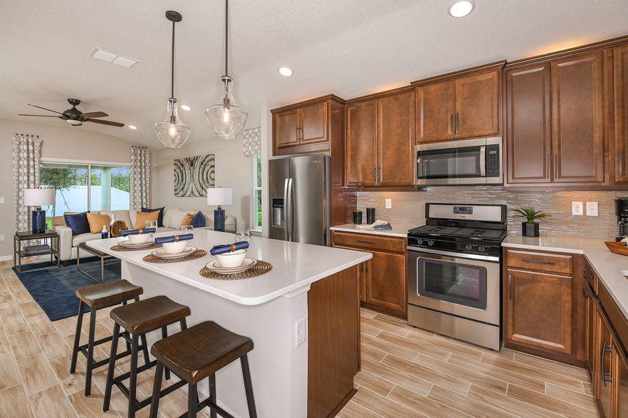 St. Johns - RiverTown - NorthLake:Carrabelle Model Kitchen