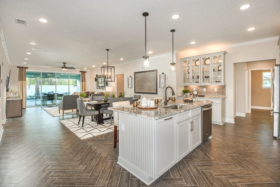 Saint Johns - RiverTown - Haven:Braden Model Kitchen
