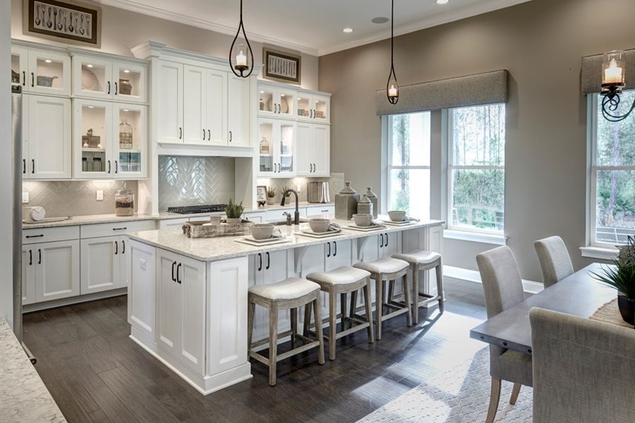 Saint Johns - RiverTown - Estates:Iris Model Kitchen