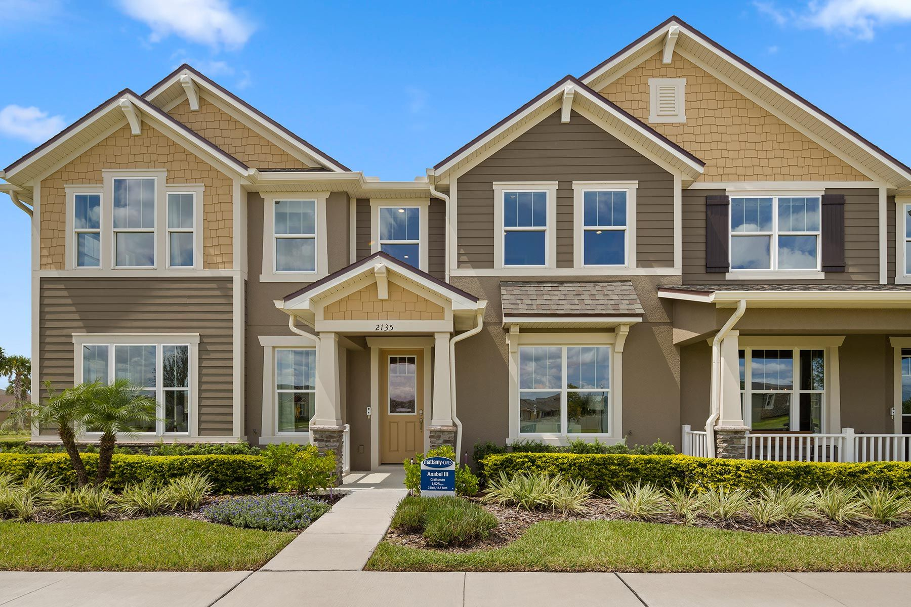 Exterior:PHOTO REPRESENTATION OF THE ANABEL III MODEL HOME