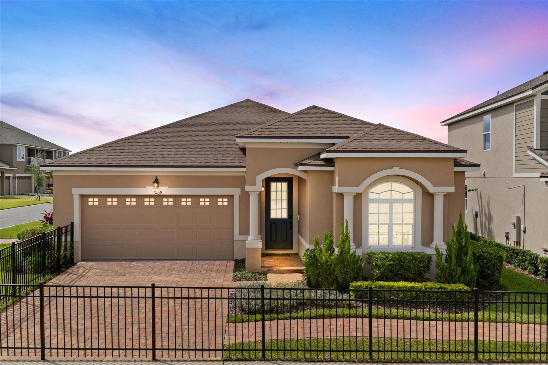 Exterior:PHOTO REPRESENTATION OF CRESCENT MODEL HOME