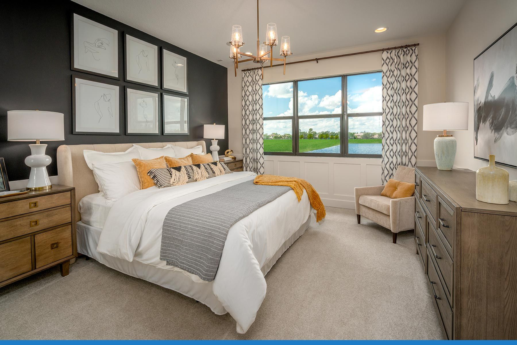 Lake Worth - Saddlewood:Ellery Townhome - Owner's Suite