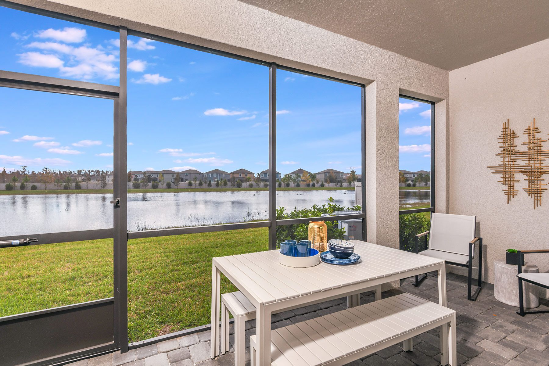 Exterior:Marianna model home from our Parkview community in Lutz