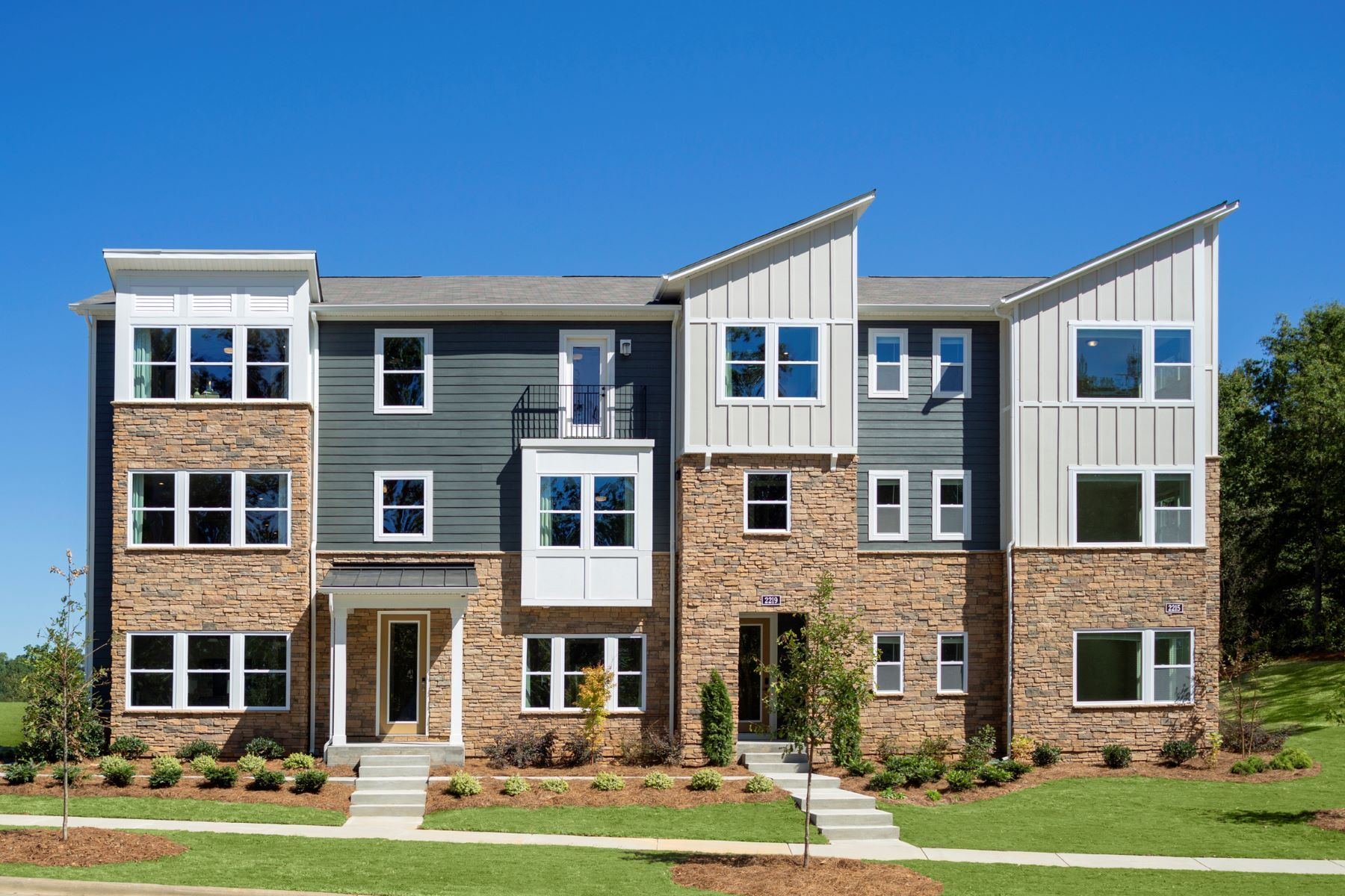 Charlotte - Aria at The Park:Gramercy + Greenwich Model Homes