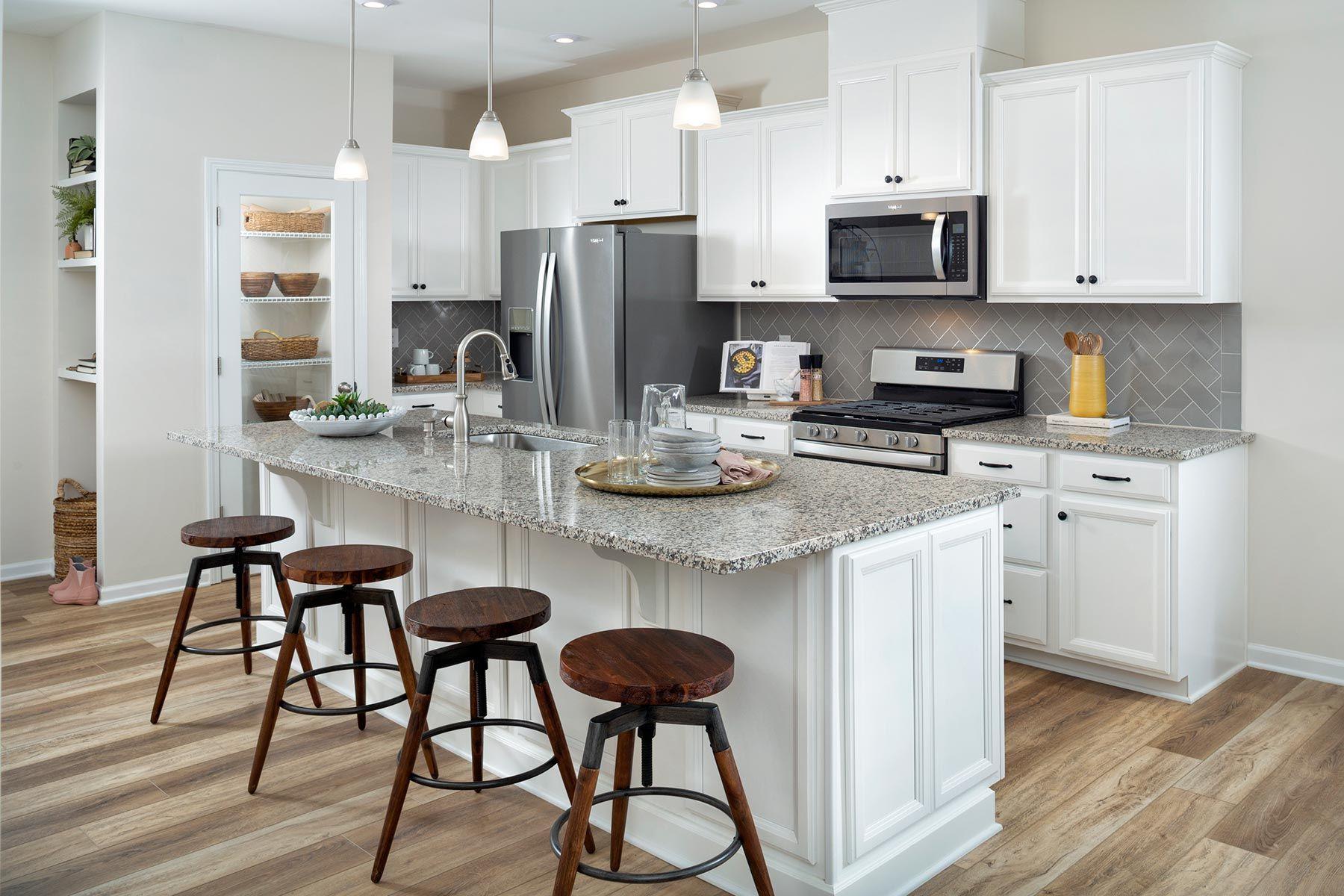 Charlotte - Galloway Park:Ava Model Kitchen