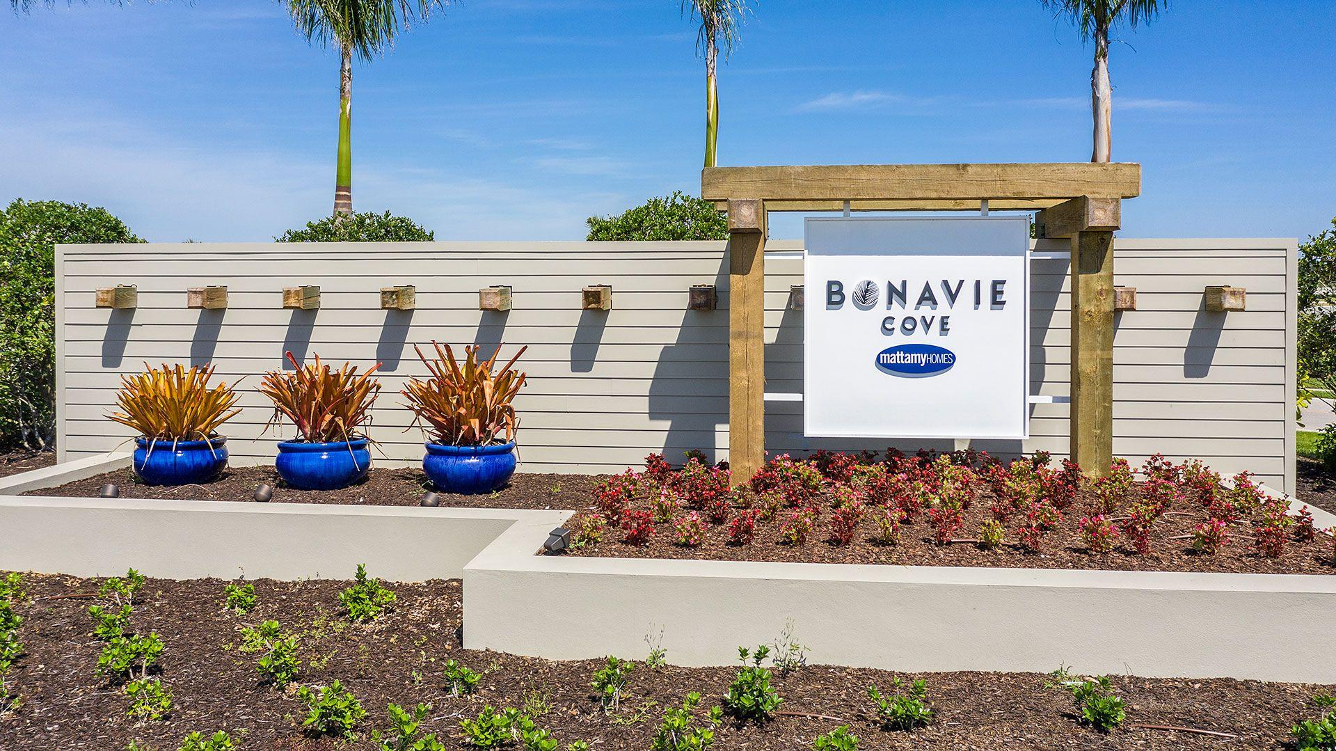 Fort Myers - Bonavie Cove :Entrance