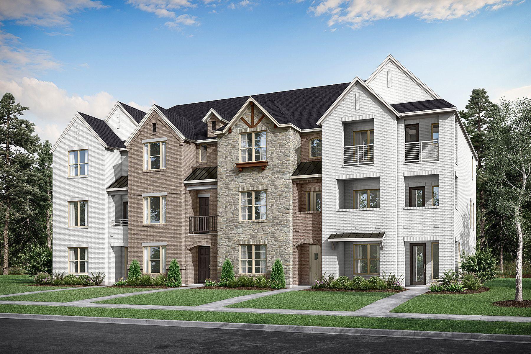 Frisco - Wade Settlement Townhomes:Wade Settlement 4-Plex
