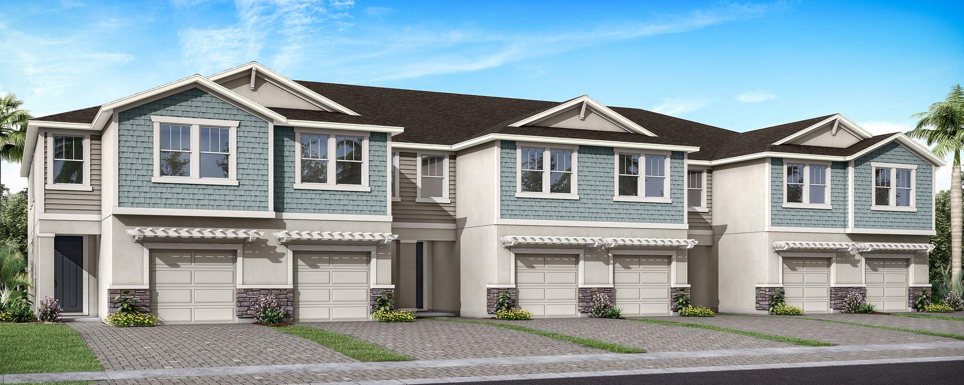 Citrus Park - Citron Grove:Stylish townhomes (rendering shown)