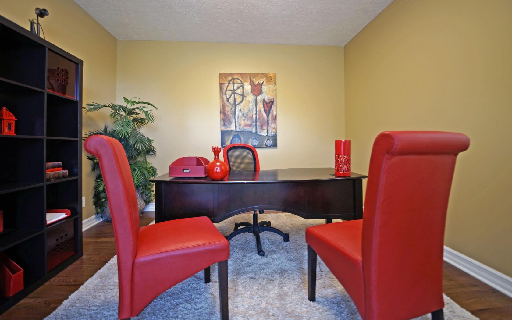 The Westwood by Mayberry Homes:Den