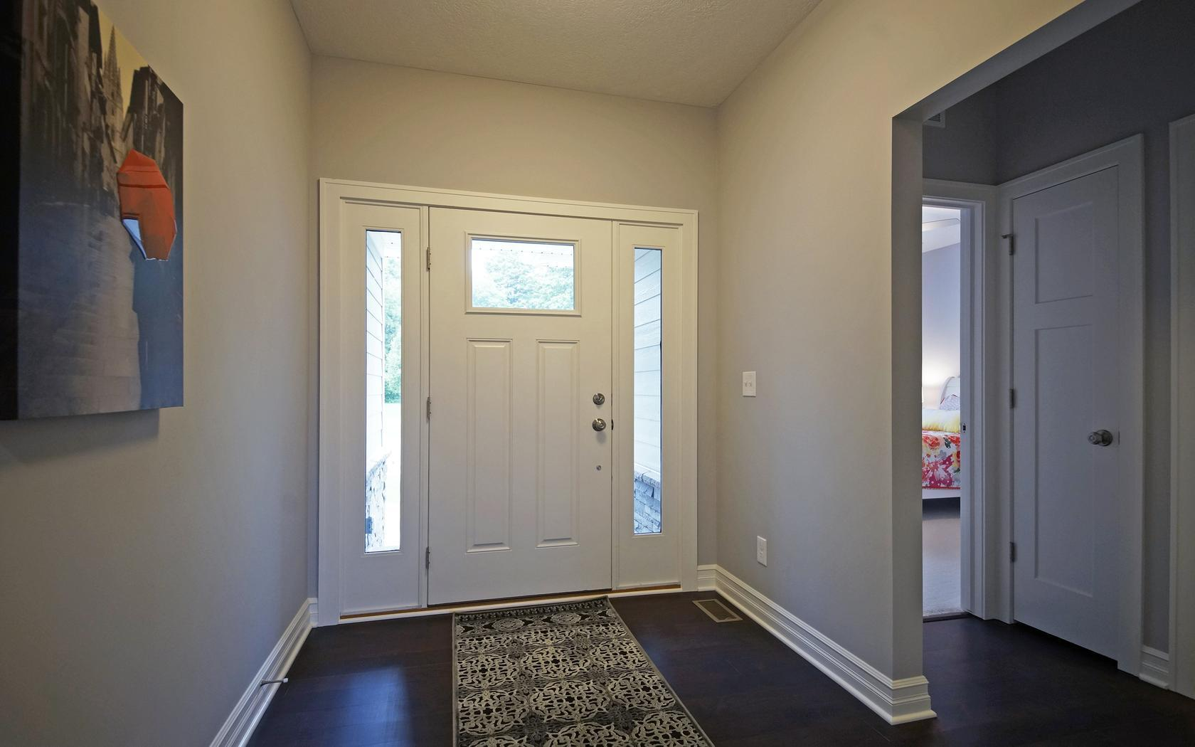The Newcastle by Mayberry Homes:Foyer