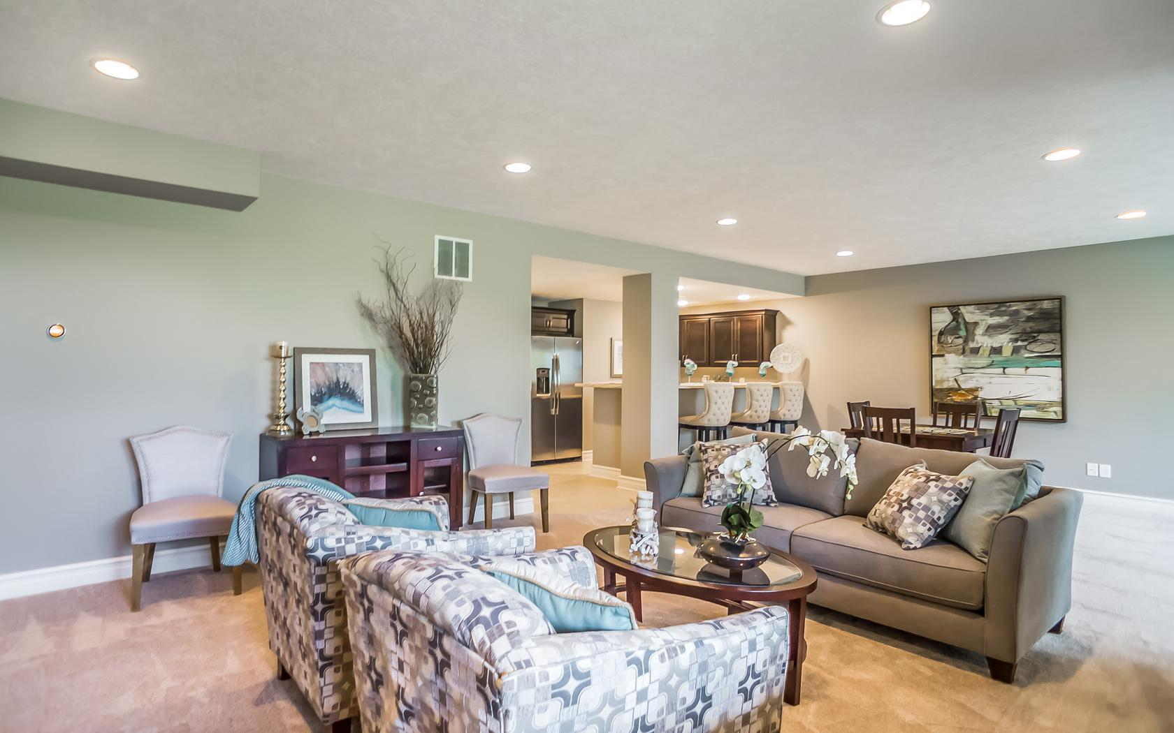 The Maplewood by Mayberry Homes:Lower Level