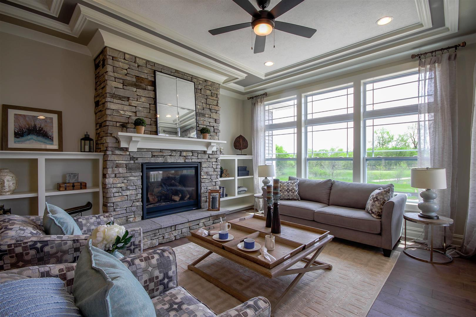 The Mabel by Mayberry Homes:Great Room