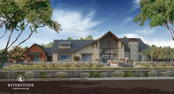 Riverstone:The Lodge, clubhouse
