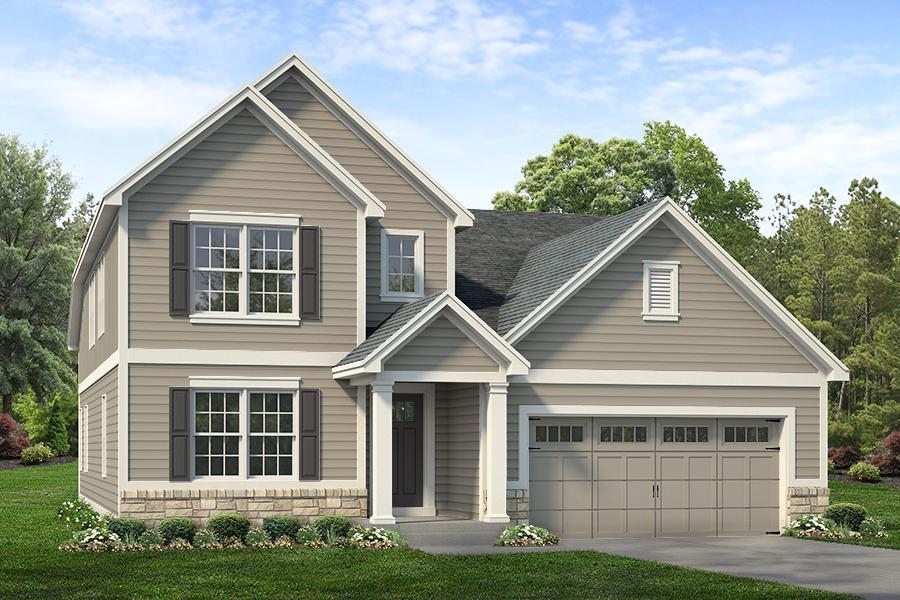 Exterior:Madison Elevation A