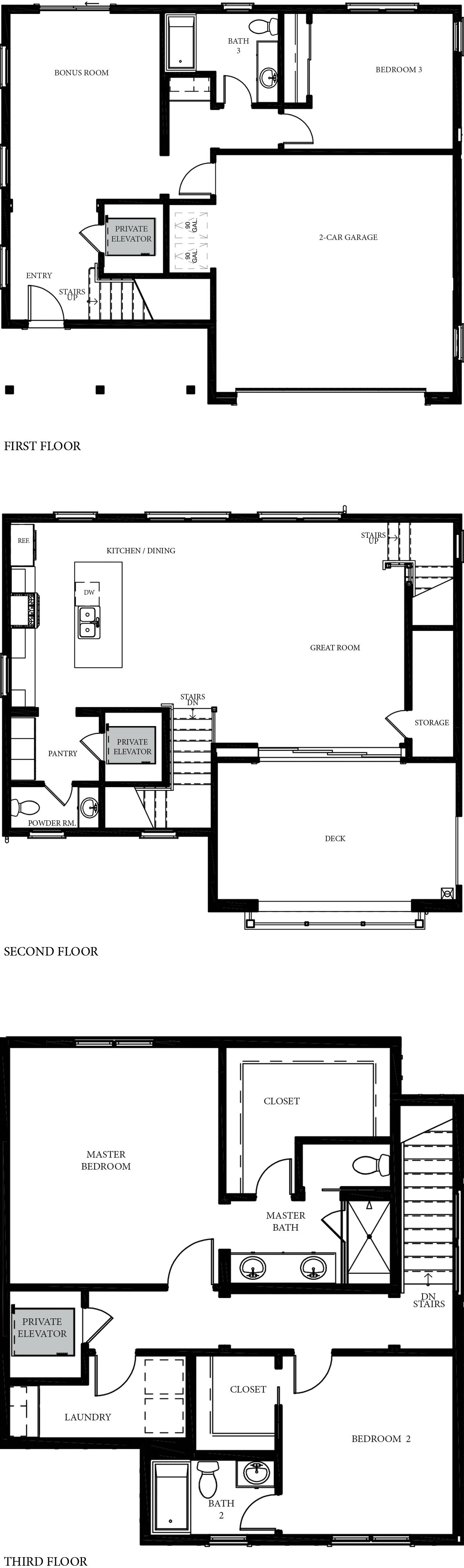 Single Family Homes 2:Floor Plan